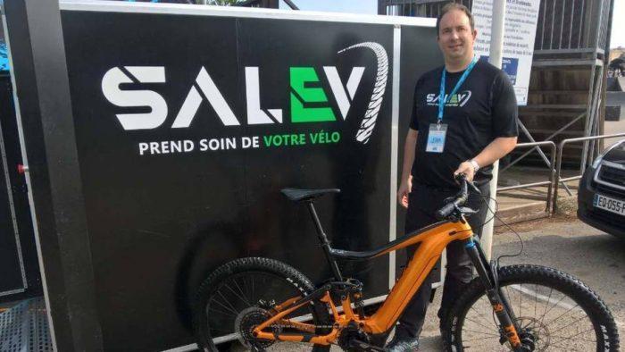 Une start-up de Chambéry invente une machine à nettoyer les vélos